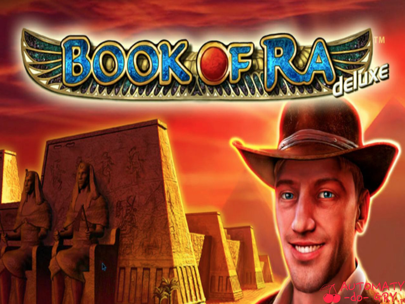 Automat do gry Book of Ra Deluxe