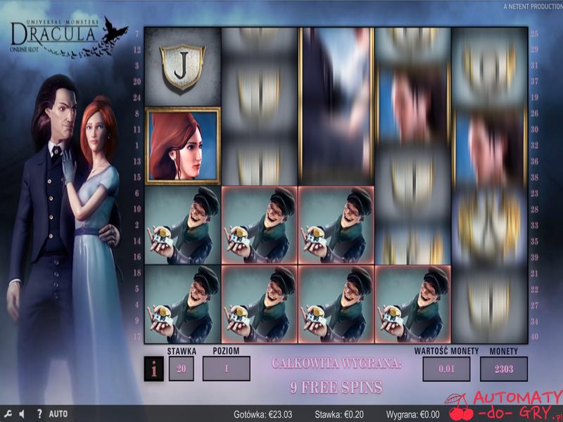Automat do gry Dracula