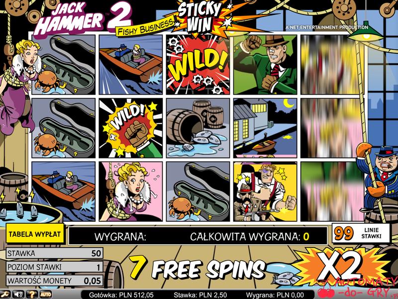 Automat do gry Jack Hammer 2