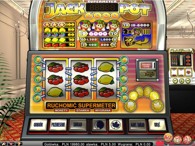 Automat do gry Jackpot 6000