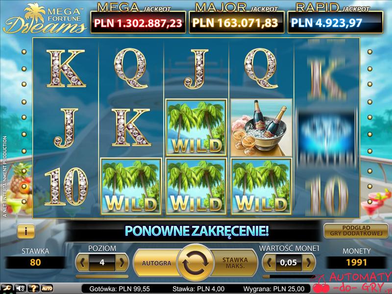 Automat do gry Mega Fortune Dreams