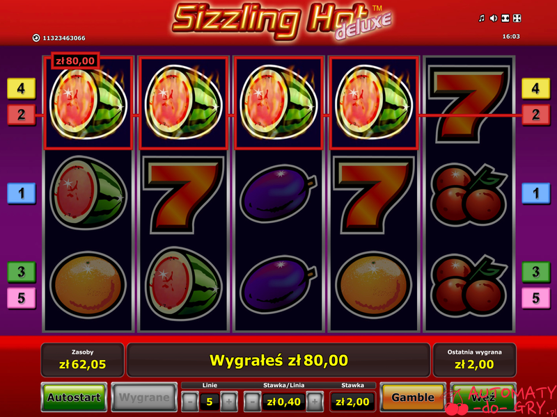 william hill online slots sizzling hot deluxe