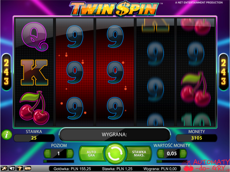 Automat do gry Twin Spin