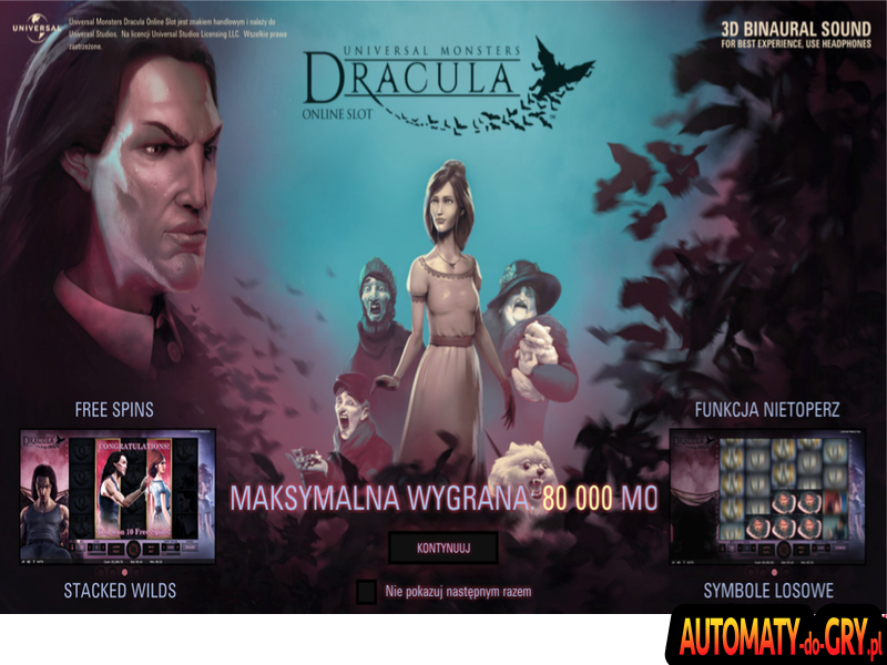 Dracula - Automat do Gry