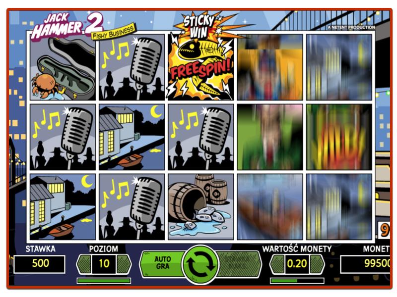 Automaty do Gry - Jack Hammer 2