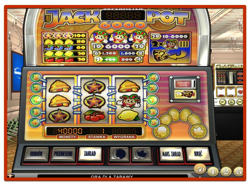 Automat do Gry - Jackpot 6000