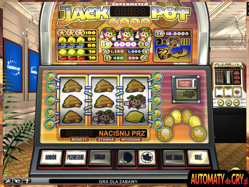 Jackpot 6000 - Automat do Gry