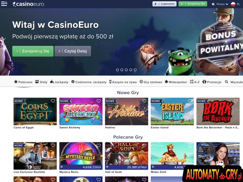 Casino Euro - Opis