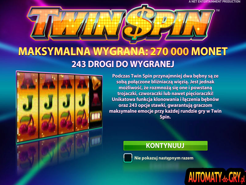 Twin Spin - Automat do Gry