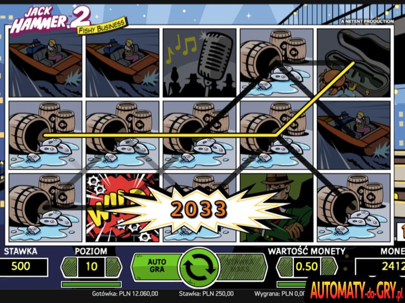Jack Hammer 2 - Automat do Gry